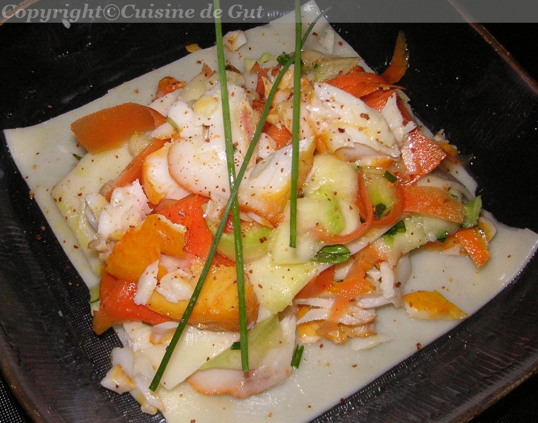 Haddock en feuilles de Lasagnes