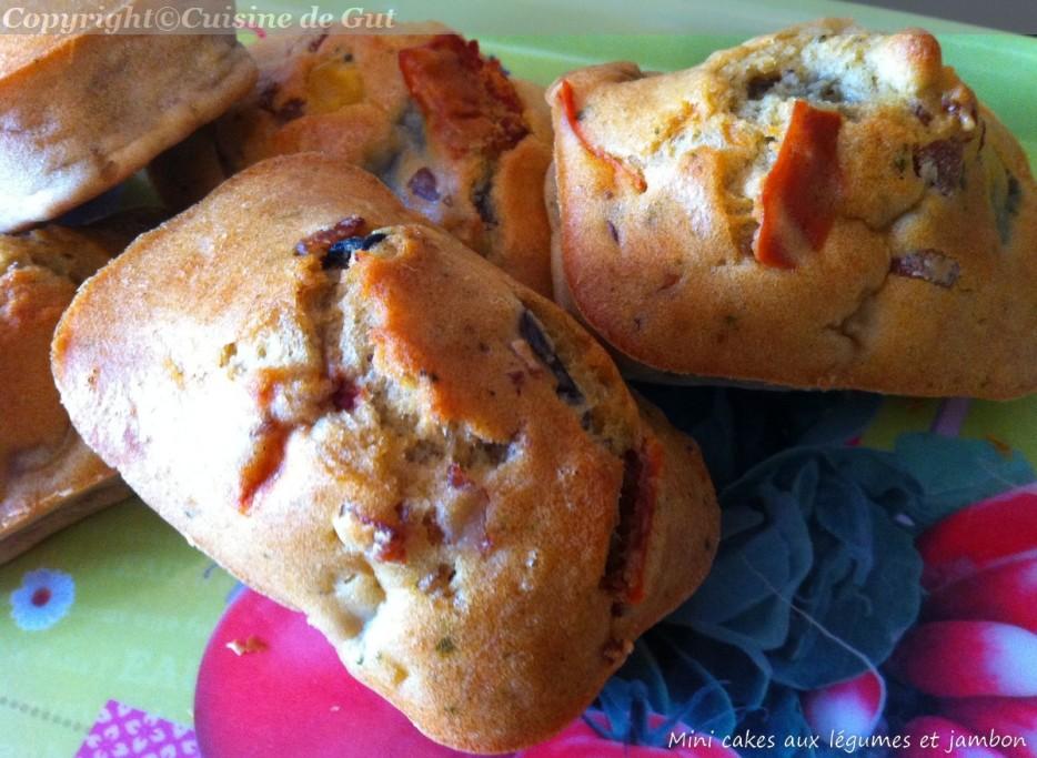 Mini cakes aux légumes 3