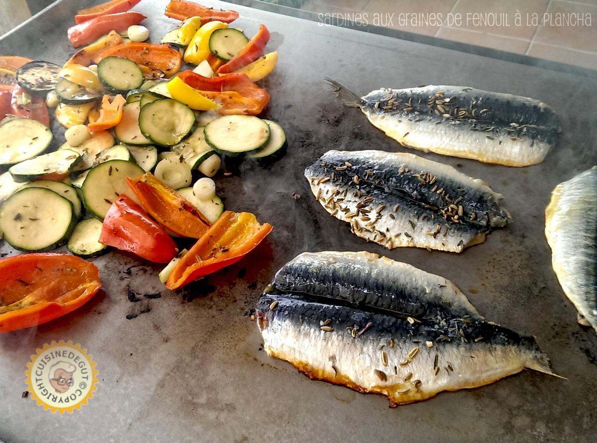 Sardines aux graines de fenouil la plancha cuisine de gut - Cuisine a la plancha ...