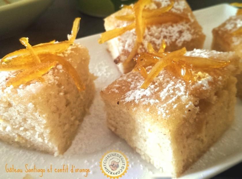 Gâteau santiago 6 Bis