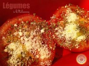 Tomates avant cuisson