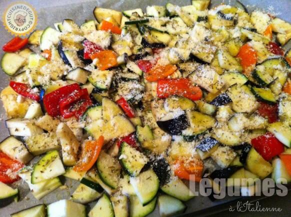 Légumes avant cuisson