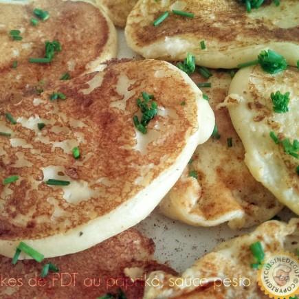 Pancakes de pommes de terre au paprika0Bis