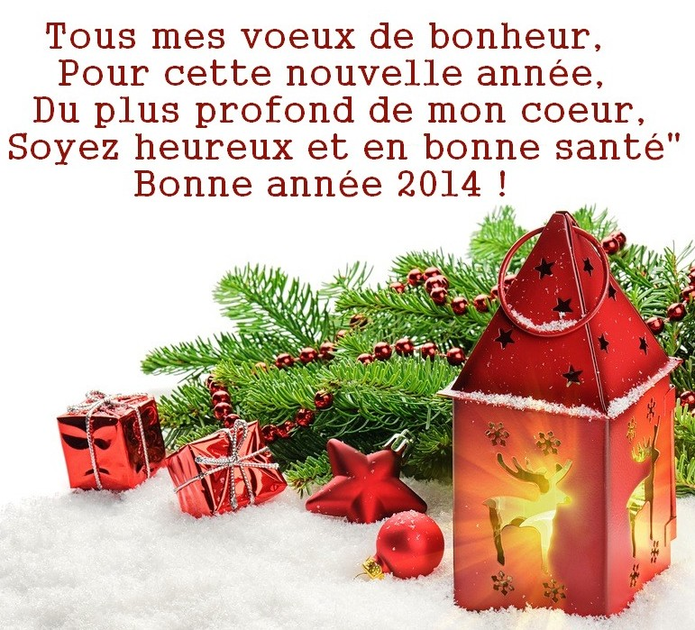 Bonne année 2014 Heureux