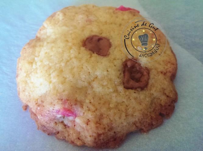 Cookie à la sortie du four