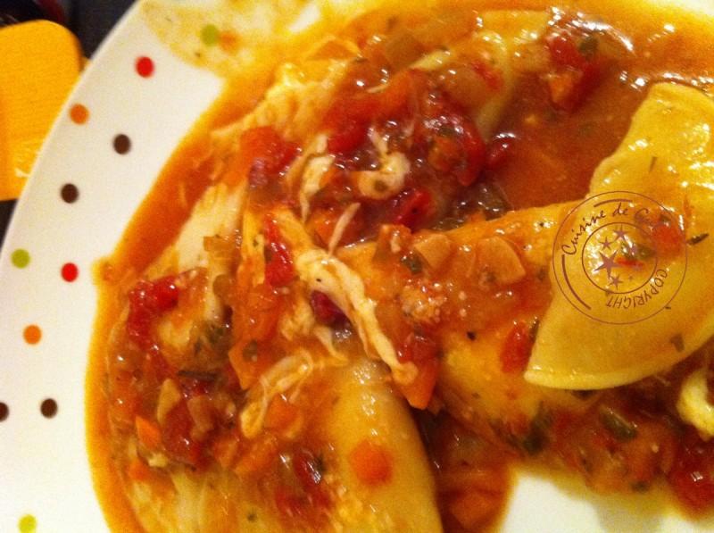 Raviolis 3 fromages assiette