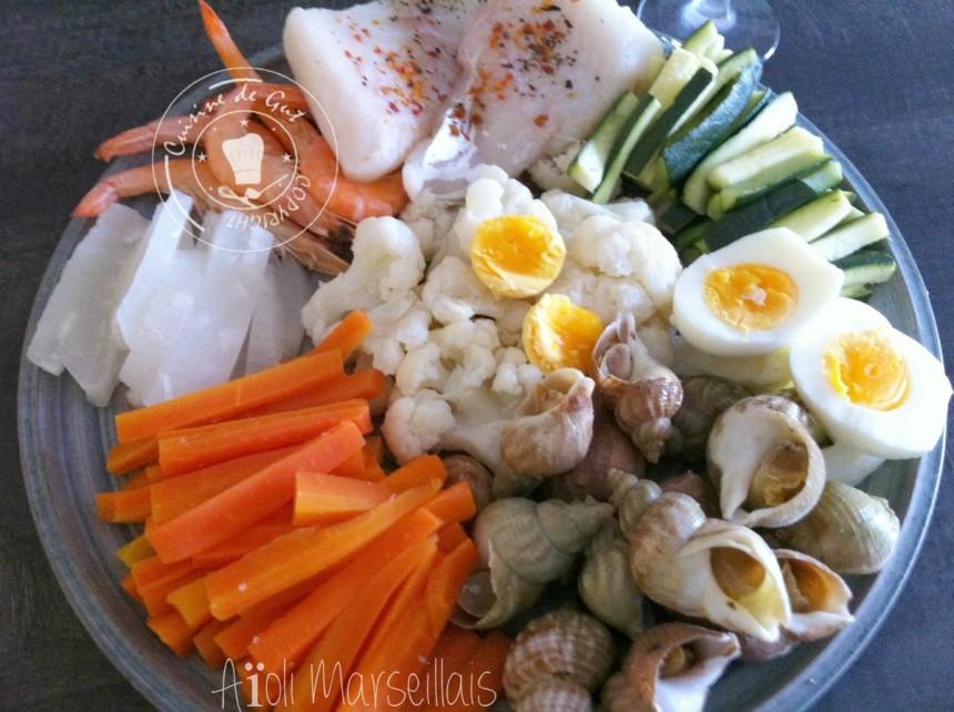 A oli marseillais cuisine de gut - Recette cuisine provencale traditionnelle ...