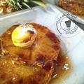 ananas rôti aux épices 2tranches