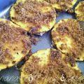 ananas rôti aux épices prêt à passer aufour