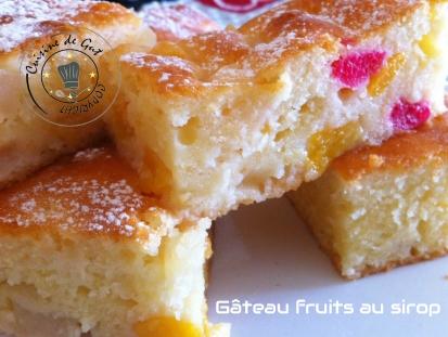 G teau fruits au sirop cuisine de gut - Fruits au sirop maison ...