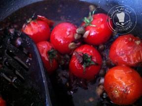 Cuisson des tomates dans le vinaigre