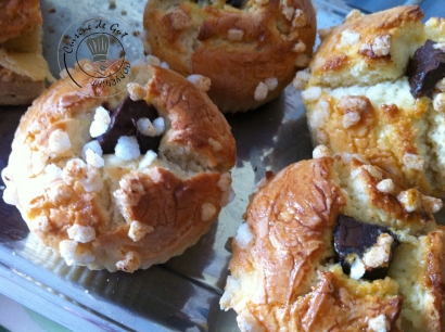 Cake en moules muffins