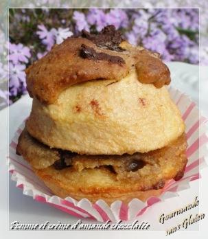 pomme et crème d'amande GOURMANDE SANS GLUTEN