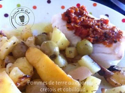 Pommes de terre et cabillaud