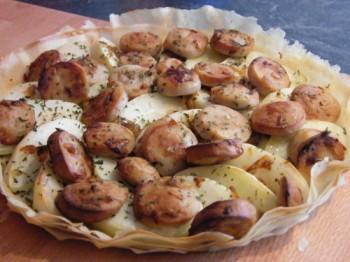 Tarte-brick-pommes-boudin-blanc Les délices de severine