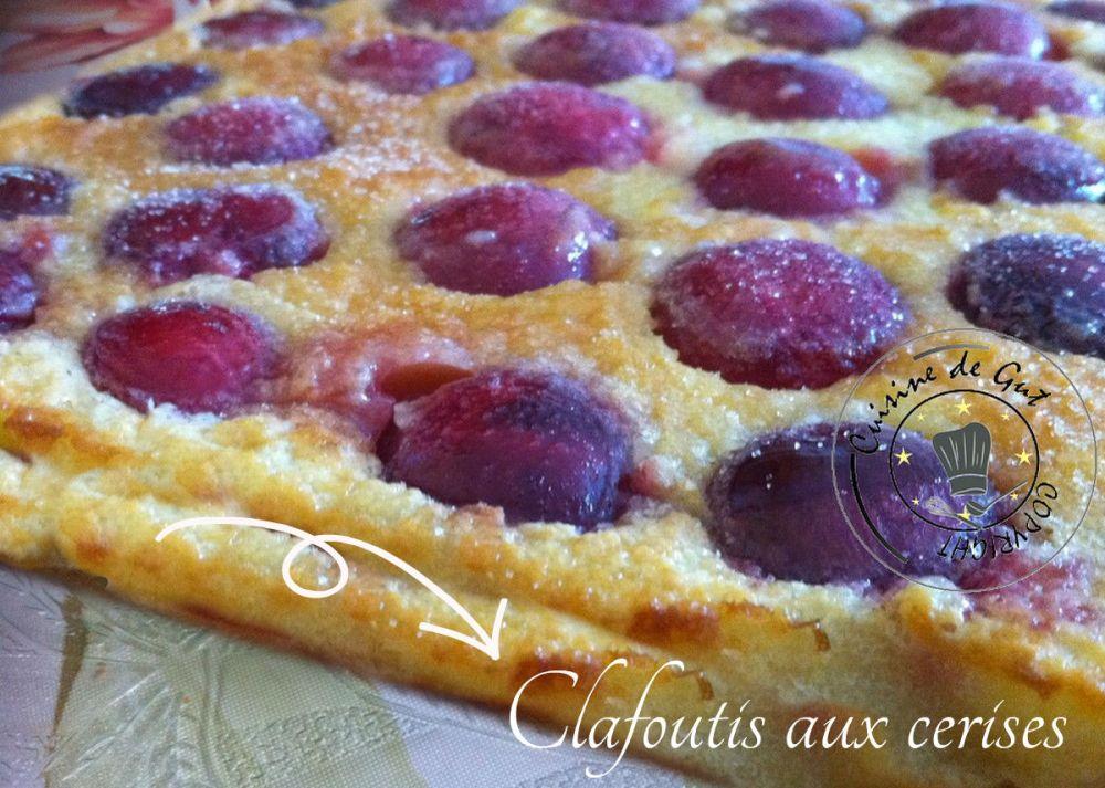 Clafoutis aux cerises2