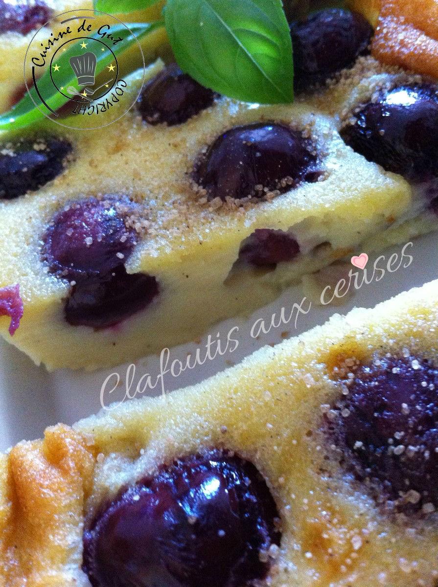 Clafoutis aux cerises3