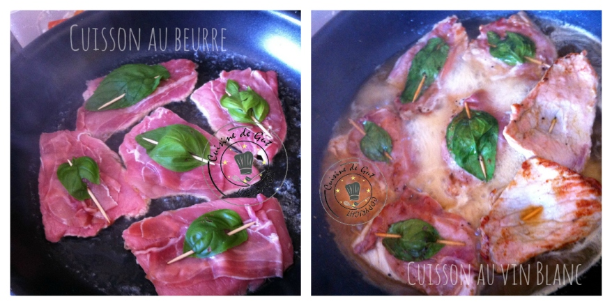Saltimbocca collage