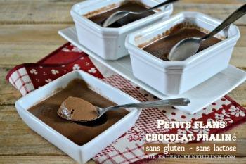 flans-chocolat-praline-sans-gluten-sans-lactose  CATHY clin d'oeil