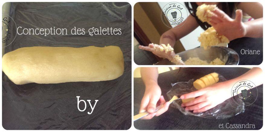 Galettes bretonnes collage