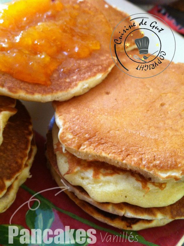 Pancakes vanillés H
