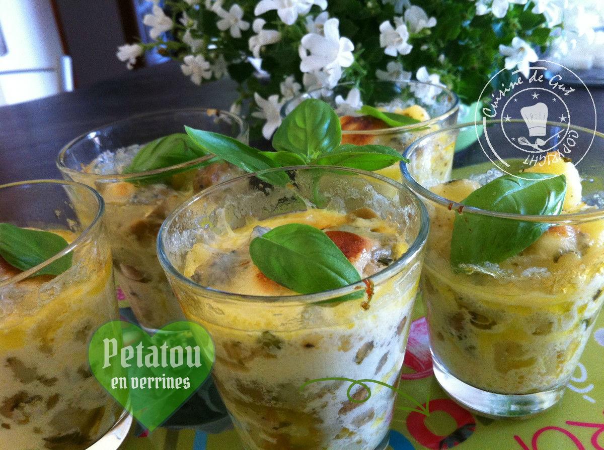 Verrines et apéro – Cuisine de Gut