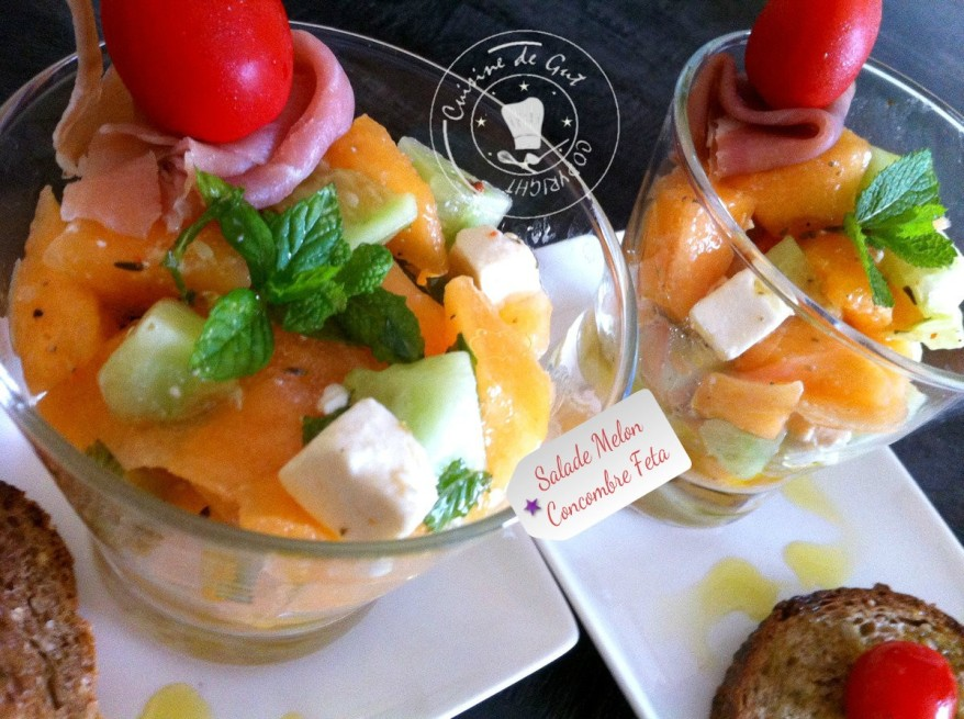 Salade melon concombre feta1