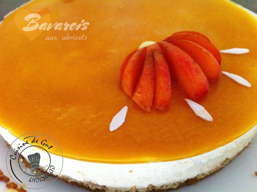 Bavarois àl'abricot 1