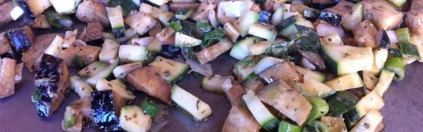Plancha de légumes moutarde provençale accueil