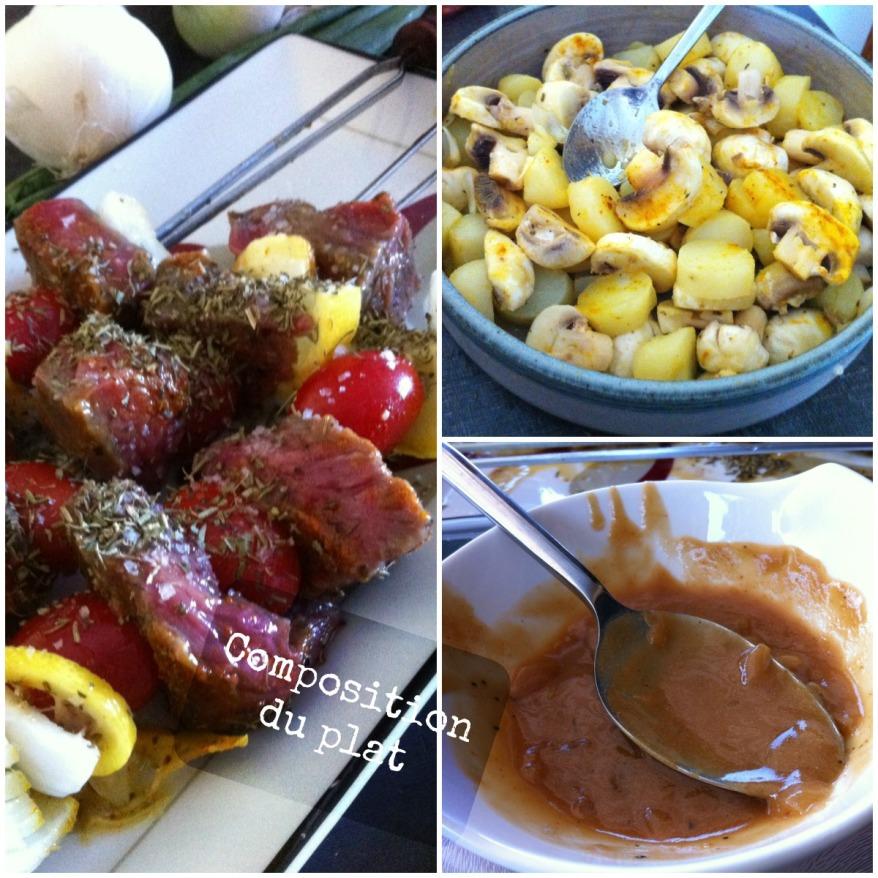Brochettes de boeuf au citron cuisine de gut - Composition du sel de cuisine ...
