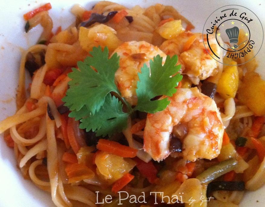 Crevettes Pad thai 1