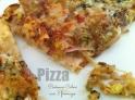 Pizza poireaux céleri 3 fromages2roquefort2
