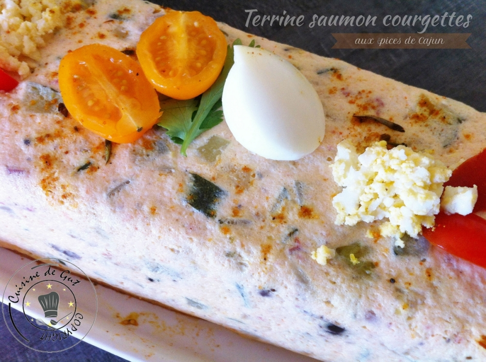 Terrine saumon courgette cajun1