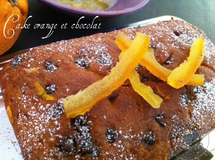 Cake orange et chocolat1