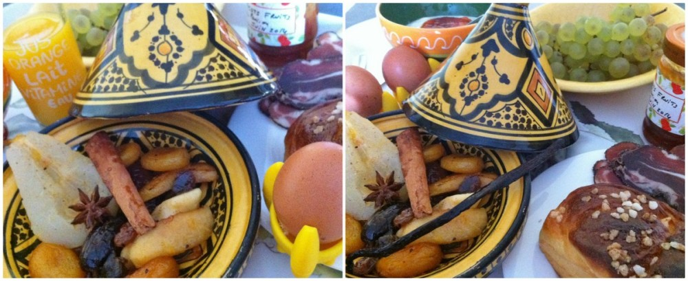 Tajine de fruits