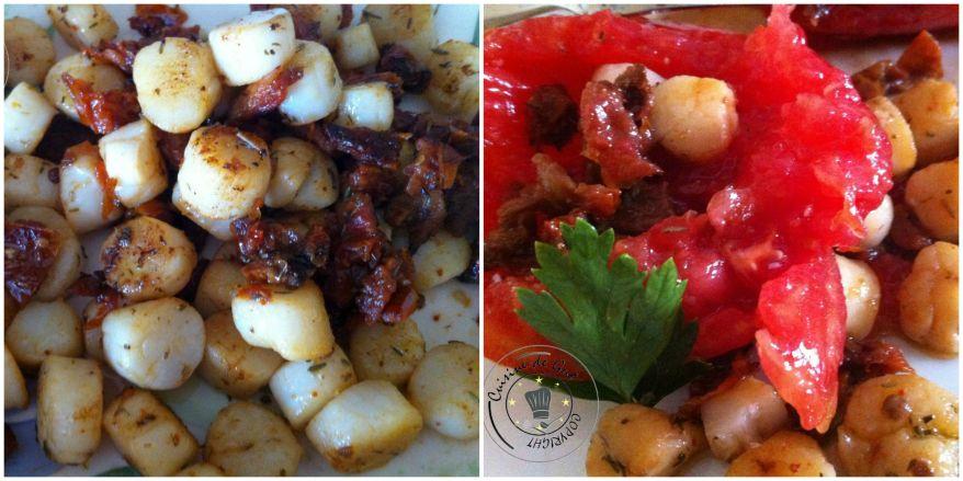 Tomates aux noix de pétoncles 2