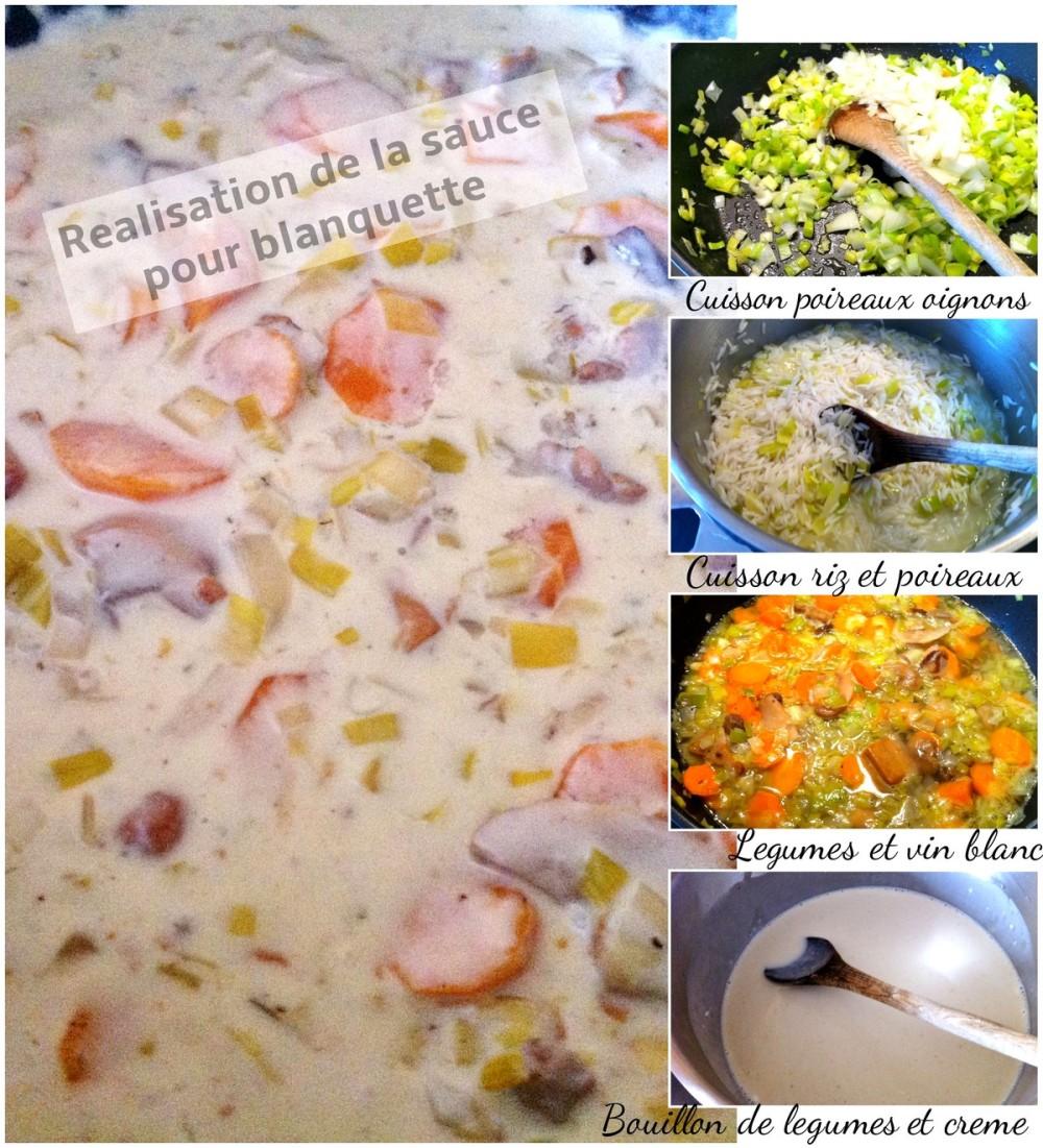 Blanquette de poissons Sauce