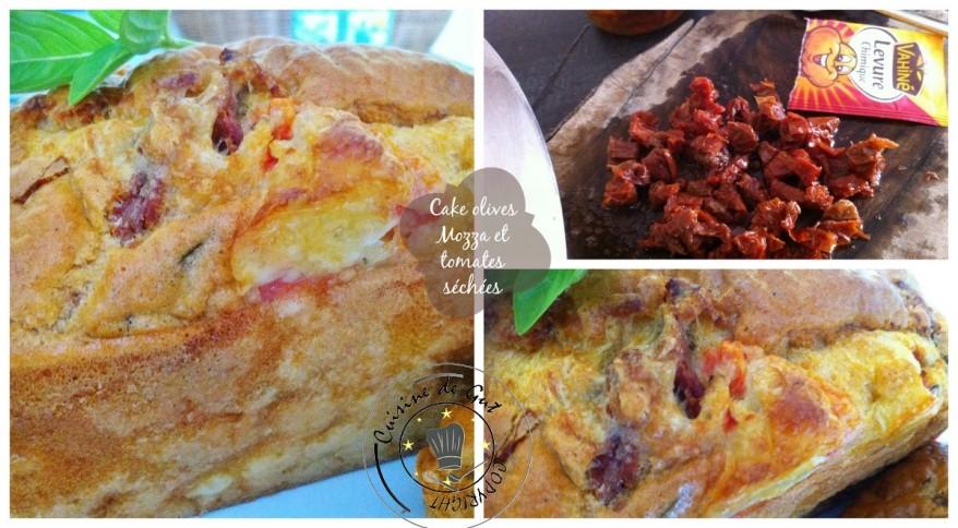 Cake Olives mozza et tomates séchées2