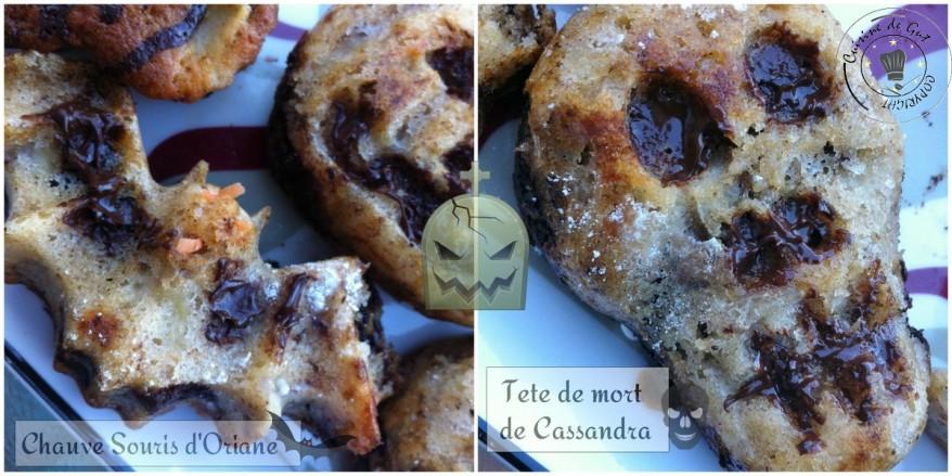 Muffins d'Halloween Cassandra oriane