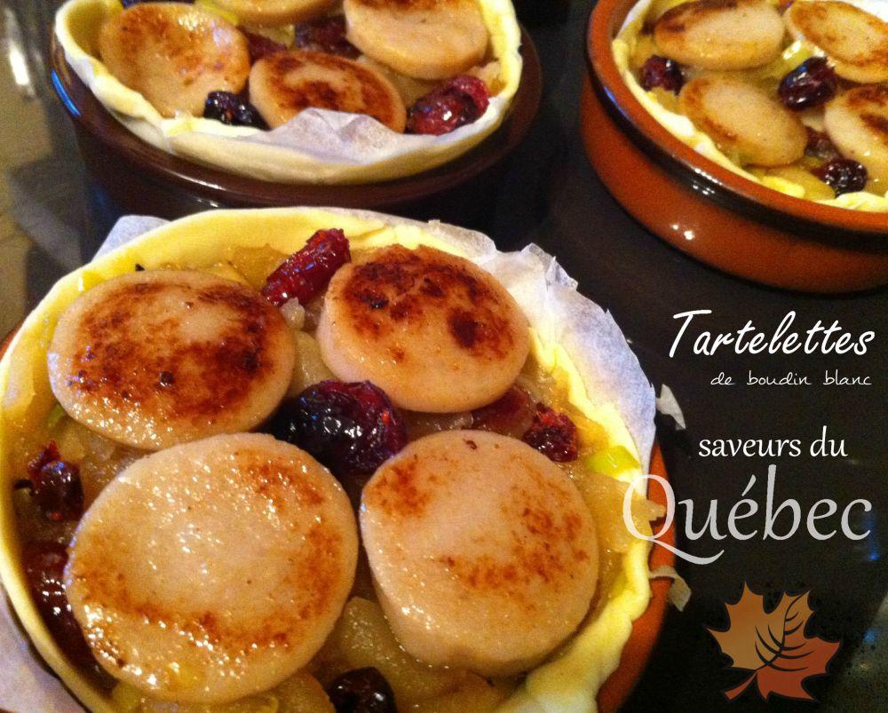 Tartelettes de boudin aux saveurs du Québec1