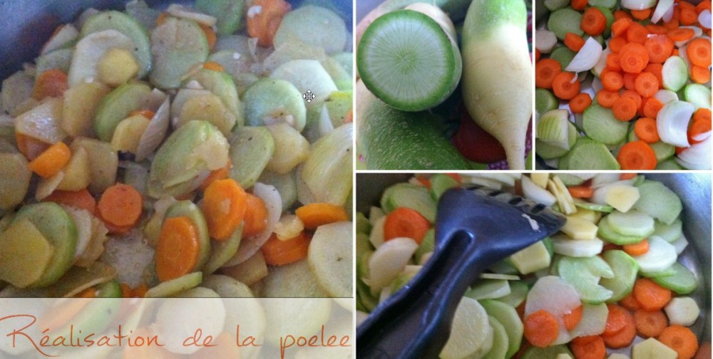 Turbot et poêlée de radis green meat2