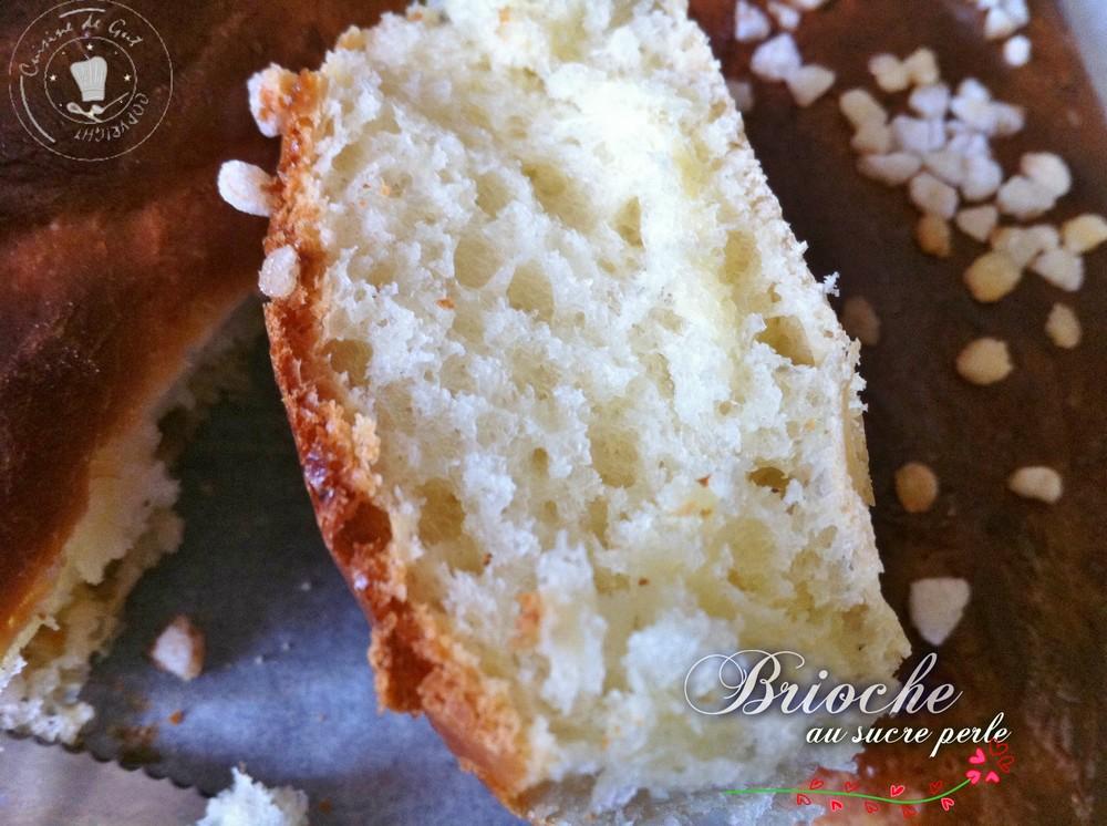 Brioche au sucre perlé 1