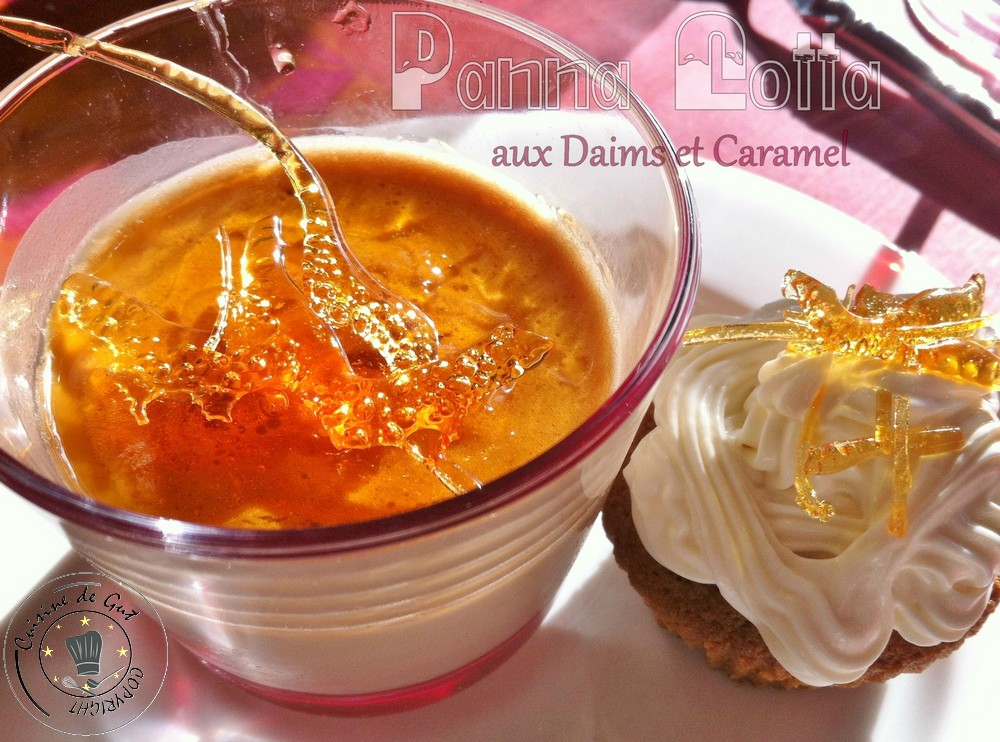Panna cotta daims et caramel 1