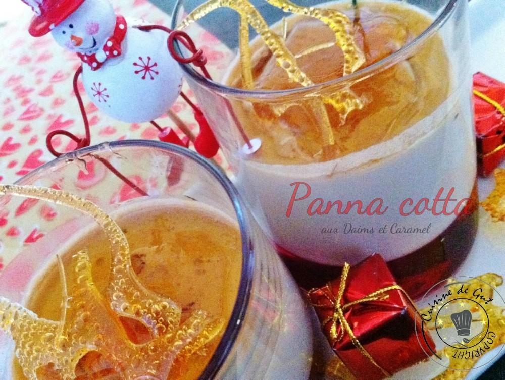 Panna cotta daims et caramel 2