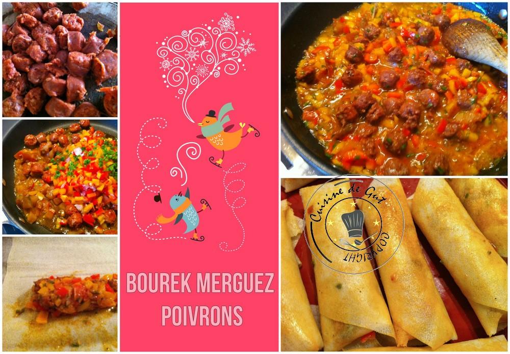 Bourek merguez poivrons 2