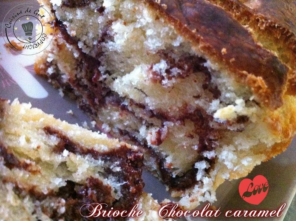 Brioche chocolat caramel 1