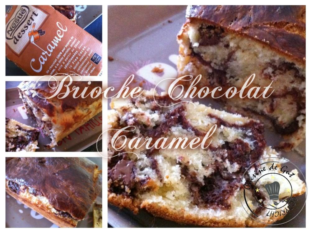 Brioche chocolat caramel 2