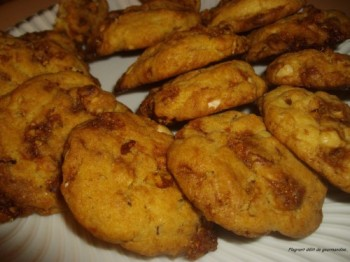 Cookies-aux-fruits-secs-caramelises NADIA