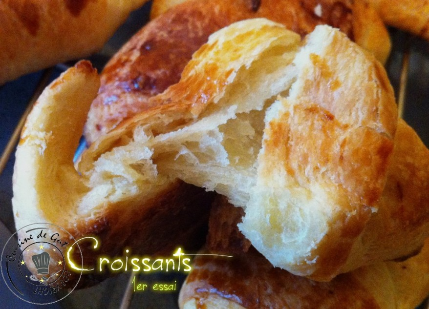 Croissants 1er essai 1