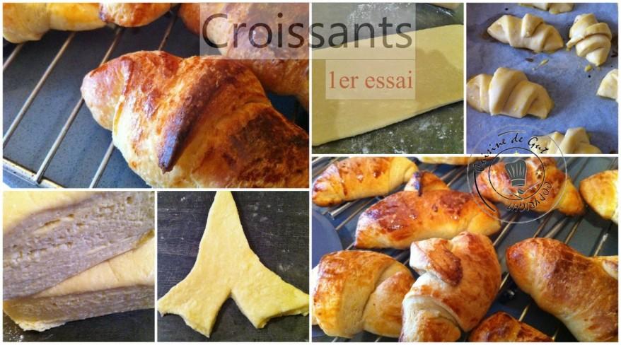 Croissants 1er essai 2